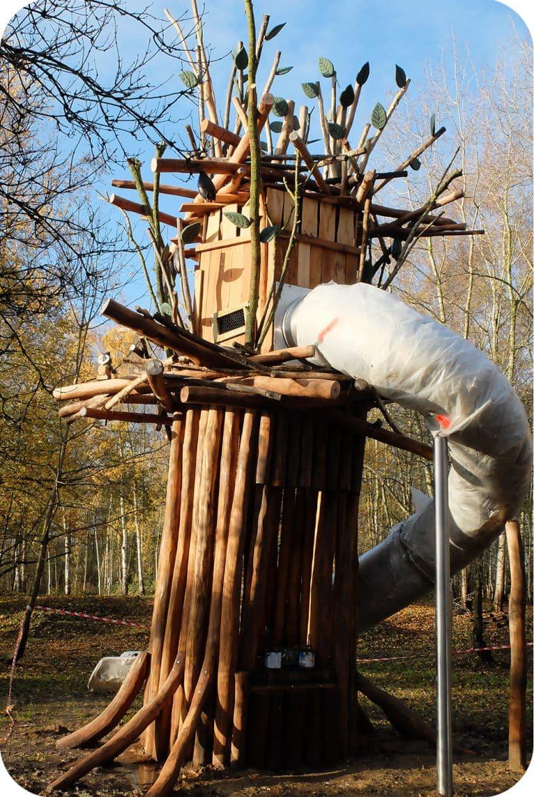 Speeltoren in provinciaal domein de gavers harelbeke
