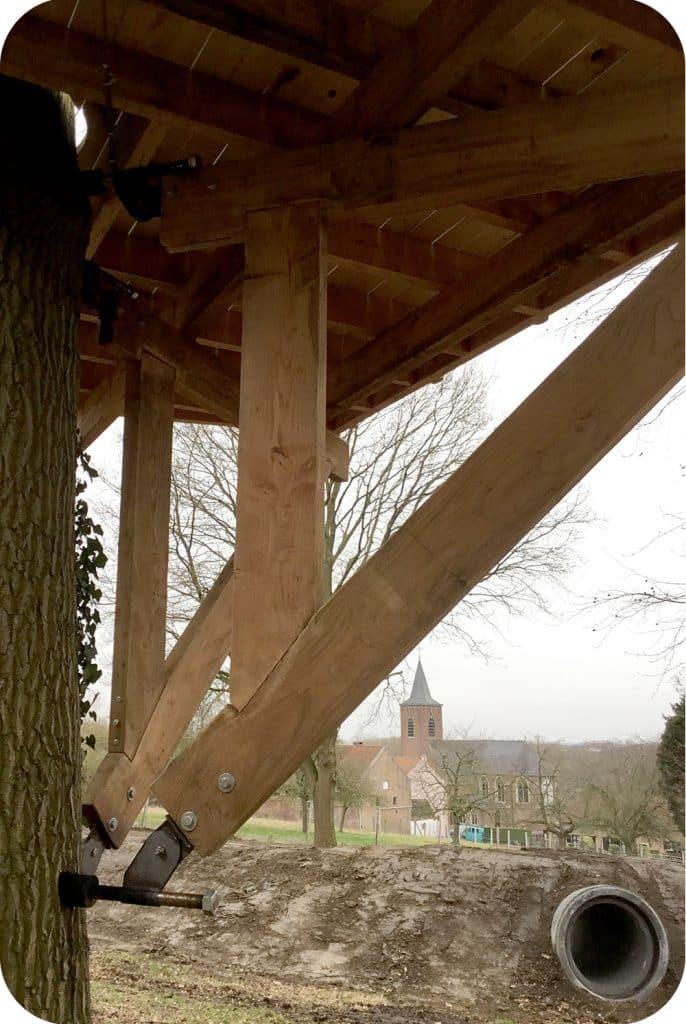 boomhut bouwen, constructie, maken