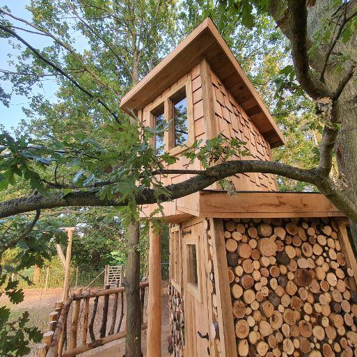 Hut in tuin voor kinderen antwerpen laten bouwen