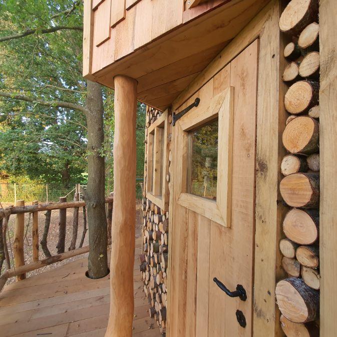 Ramsel houtconstructie tuin