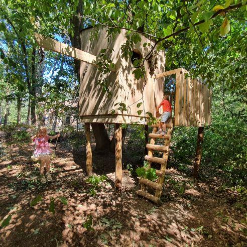 Speelhut in hout Tremelo
